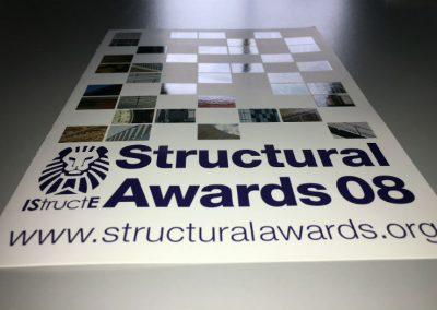 Structural Awards 2008 - Leaflet