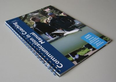 Planner - Communication in Coaching Manual