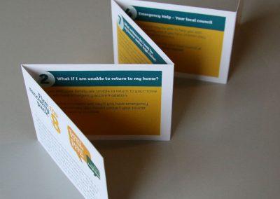 Commercial Printing - Folded Leaflet