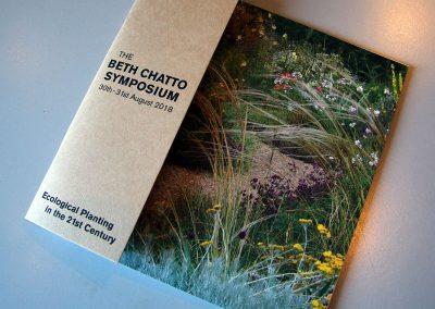 The Beth Chatto Symposium - Brochure